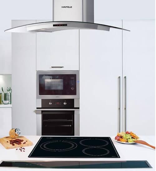 thiết kế hiện đại của bếp từ Hafele