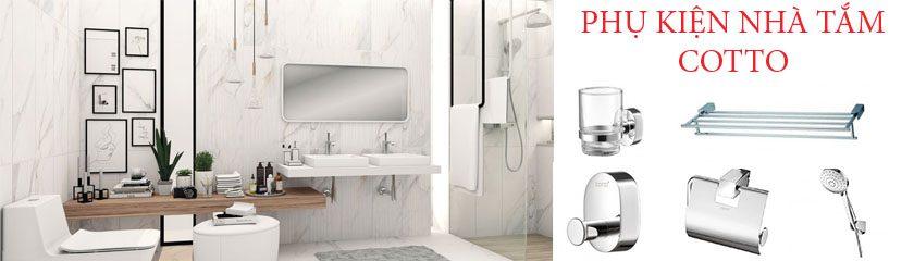 phụ kiện phòng tắm Cotto